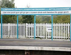 Llanfairpwllgwyngyllgogerychwyrndrobwllllantysiliogogogoch, or Llanfairpwllgwyngyll for short, is a large village in Anglesey.  It has the longest place name in Europe and one of the longest in the world.