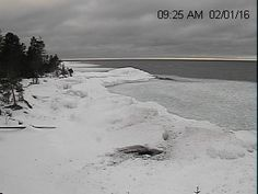 Michigan Snow Cams Eagle Harbor Webcam Upper Peninsula, Michigan, Eagle, Snow, Frame, Outdoor, Picture Frame, Outdoors, The Eagles