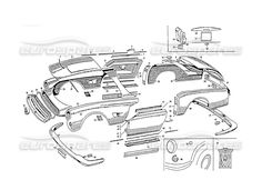 maserati 3500 gt body vignale page 037 order online eurospares