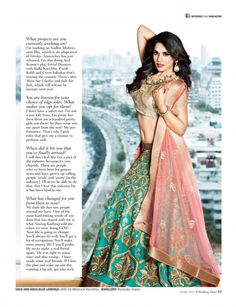 The Queen of Unconventional Choices Richa Chadda covers Wedding Times