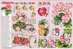 "ru / tymannost - Альбом ""Encyclopedie du point de croix ( Fleurs arbres et feuilles )"" Pattern Books, Needlepoint, Cross Stitch Patterns, Crochet, Diy Crafts, Embroidery, Sewing, Stitches, Easter"