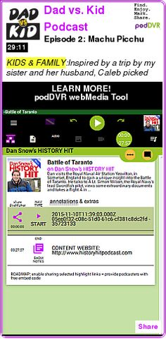 #KIDS #PODCAST  Dad vs. Kid Podcast    Episode 2: Machu Picchu    LISTEN...  http://podDVR.COM/?c=555d6c3c-1108-74e4-3d19-e29f7c99290c