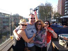 Party at the Hard Rock!! — with Heather Martell Kamasa, Andrew Goldberg and Kim Adams at Hard Rock Hotel San Diego. ~Jane Ashwood-Benitez #asseenatnaa