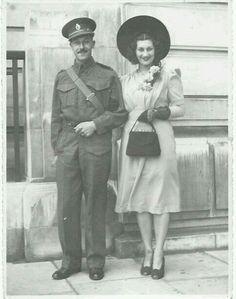 WW2 wedding