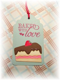 Baked with Love ~ Piece of Cake tags