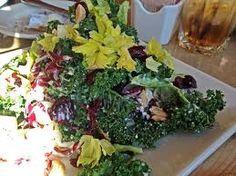 Kale Salad KALE SALAD Cheesecake Factory Copycat Recipe Serves 1 Salad: A couple handfuls Fresh Kale cut into bite-size piec...
