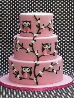 Cute! Could make it another color if wanted? For like a wedding or something, if the bride likes owls!
