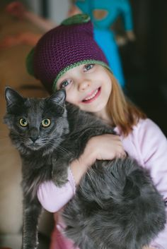 Ravelry: Kitty Hat pattern by The Firefly Hook