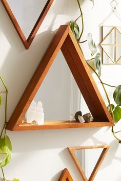 Pyramid Ledge Mirror