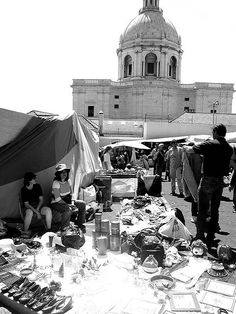 Feira da Ladra. Lisbon by seestrandkiefer, via Flickr