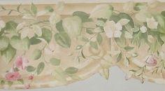 York Floral Die Cut Wallpaper Border - AO6925B