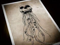 jellyfish tattoo - Pesquisa Google