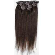 Emosa 20'' 7pcs Clip In 100% Remy Human Hair Extensions Full Head Color #2 Dark Brown by Emosa, http://www.amazon.com/dp/B00AMA7RDG/ref=cm_sw_r_pi_dp_5q0prb08MJ7FB