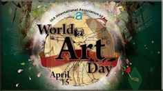 #WorldArtDay is celebrated for promotion of creative fine #arts on the birthday of #LeonardodaVinci