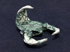 Tiny SCORPION Dollar Origami