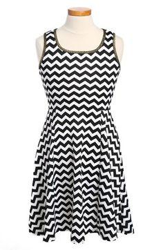 Soprano 'Scuba' Dress (Little Girls & Big Girls) available at #Nordstrom