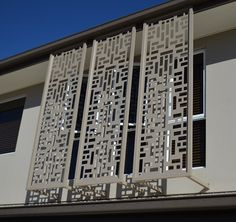 The Decorative Screens Direct Gallery showcases many of the laser cut screen projects we have completed over the years. Living Room Partition Design, Room Partition Designs, Wall Partition, Railing Design, Door Design, Modern Window Grill, Balcony Grill Design, Decorative Screen Panels, Metal Grill