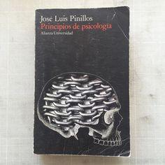 Principios de Psicología #portadista #DanielGil #portadas #covers #santander #expo #tenebroso