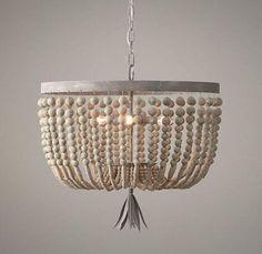 diy lamp met kralen