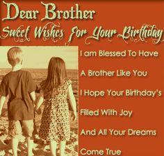 Birthday wishes elder brother wishing pinterest birthdays and happy birthday 2 my brother m4hsunfo