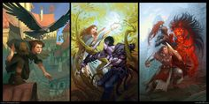 The Tormay Trilogy by Belibr on DeviantArt