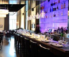 LEMAYMICHAUD   Il Matto   Architecture   Design   Hospitality   Eatery   Restaurant   Dining Room   Custom Lighting   Bar  