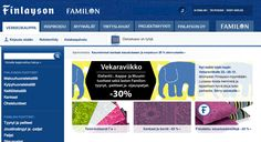 In 2009 Finlayson's ten stores cover the whole of Finland as its online shop opens up. Finlayson is still renowned for quality, cotton bed linens, terry towels, fabrics and beds.