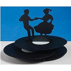 Sock Hop Metal Centerpieces Will Look Stunning On Your Fifties Tables. Each Sock  Hop Metal Centerpiece Is 6 Inches High By 7 Inches Wide By 9 Inches Long.