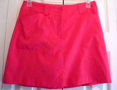 Women's Nike Golf Fit Dry Shorts/Skirt Skorts Size 6 Hot Pink  RN# 56323 #Nike
