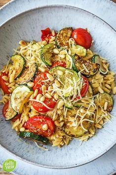 Veggie Recipes, Pasta Recipes, Vegetarian Recipes, Healthy Recipes, Hello Fresh Recipes, Food Inspiration, Italian Recipes, Love Food, Food Porn