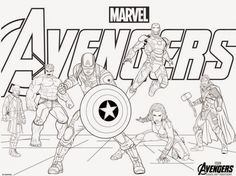 photo about Avengers Printable Coloring Pages titled 9 Suitable Avengers Coloring Web pages pics in just 2017 Avengers