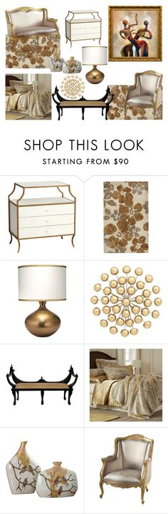 """Home Bound"" by nefertiti1373 on Polyvore featuring interior, interiors, interior design, home, home decor, interior decorating, Redford House, Pier 1 Imports, Jamie Young and Universal Lighting and Decor"
