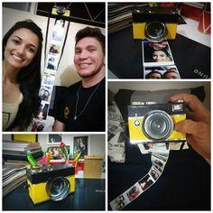 #câmeraportafoto   #câmeraretrô   #façavocêmesmo  #presentecriativo