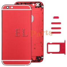 Apple iPhone 6 Full Assembly Replacement Housing Cover(Red) http://www.laimarket.com/apple-iphone-6-full-assembly-replacement-housing-coverred-p-3017.html