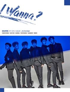 "SNUPER 4th Mini Album ""I Wanna?"" Stage Ver CD+Photobook+Photocard+Sticker+Poster #Pop"