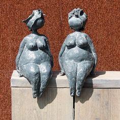 twee mollige dames