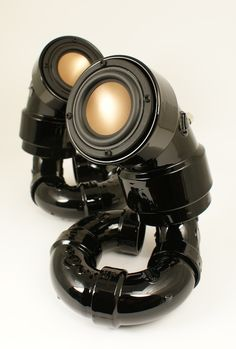 Ikyaudio Black Mambas audio speakers