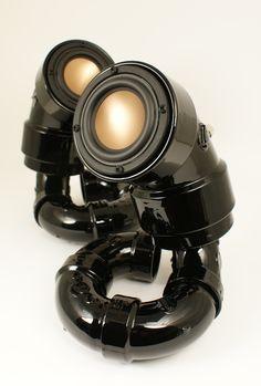 Ikyaudio Black Mambas audio speakers
