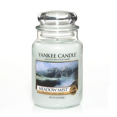 Meadow Mist®: Yankee Candle:  The dew of the morning touches sweet meadow flowers and tall green grasses.