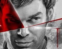 Dexter - We all have a dark side by Etienne Ripzaad, via Behance
