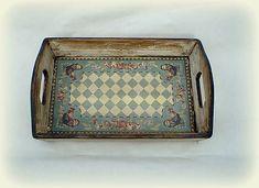agir / Tácka Tray, Handmade, Vintage, Home Decor, Hand Made, Decoration Home, Room Decor, Trays, Vintage Comics