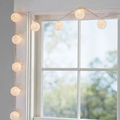 32 new ideas apartment decorating college walls string lights String Lights In The Bedroom, Lantern String Lights, Led Wall Lights, Light String, Dorm Lighting, Orb Light, Lamp Light, College Walls, College Room