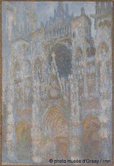 Claude Monet La cathédrale de Rouen. Le portail, soleil matinal