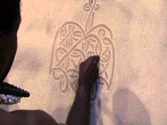 Edgar Matasanvul (Many eyes) is from Vanuatu's Penticost Island. He is a master sand drawing artist. His people have been sand drawing for generations. Sand Drawing, Drawing Artist, Drawing Practice, Vanuatu, Cool Art, Knowledge, Classroom, Product Description, Asian