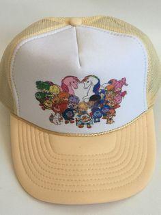 Vintage 80's Rainbow Brite Starlite Sprite Hip Hop Cap Truckers Hat Dead Stock #Nissun #Trucker