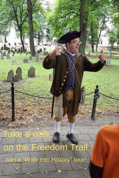 A Walk into History tour is a great way to experience the Freedom Trail! Freedom Trail, The Freedom, Boston Travel Guide, Boston Common, Traveling With Baby, Best Places To Travel, Walking Tour, Walk On, Historical Sites