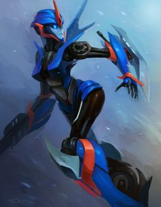 Prime Arcee by zgul-osr1113 on deviantART