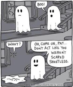 Dont act like you werent scared sheetless funny funny quotes halloween ghost halloween pictures happy halloween halloween images halloween ideas boo halloween humor funny halloween pictures funny halloween quotes Halloween Meme, Halloween Cartoons, Happy Halloween, Halloween Quotes, Halloween Ghosts, Halloween Ideas, Halloween Decorations, Halloween Party, Halloween 2018