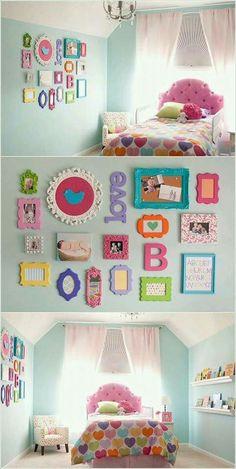 29 mejores imágenes de ideas para decorar cuarto de niña | Baby room ...