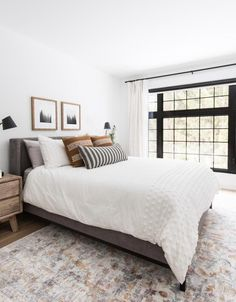 Modern Bedroom Design Trends and Ideas in 2019 Part 4 ; bedroom ideas for small room; Bedroom Decor For Couples, Home Decor Bedroom, Master Bedroom, 70s Bedroom, Peach Bedroom, Bedroom Colors, Bedroom Beach, Gray Bedroom, Bedroom Ideas For Small Rooms For Adults